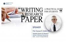 Writing a research paper: A practical guide for students
