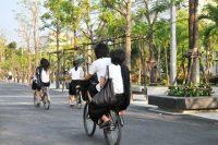 """กิจกรรม """"รวมพลคนขี่จักรยาน"""" (Bike riding)"""