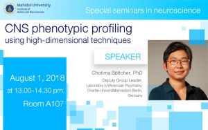 61-CNS phenotypic profiling using high-dimensional techniques