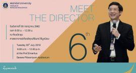 MEET THE DIRECTOR # 6
